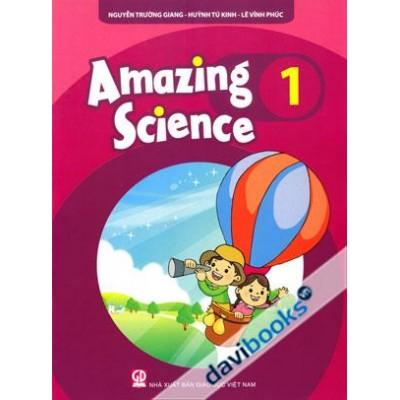 Bộ sách Amazing Science 1,2,3  (bản đẹp)