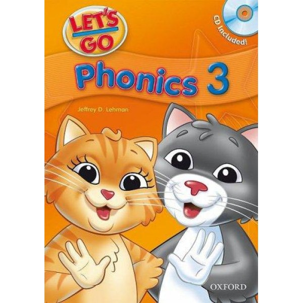 Let's Go Phonics 1,2,3 with Audio