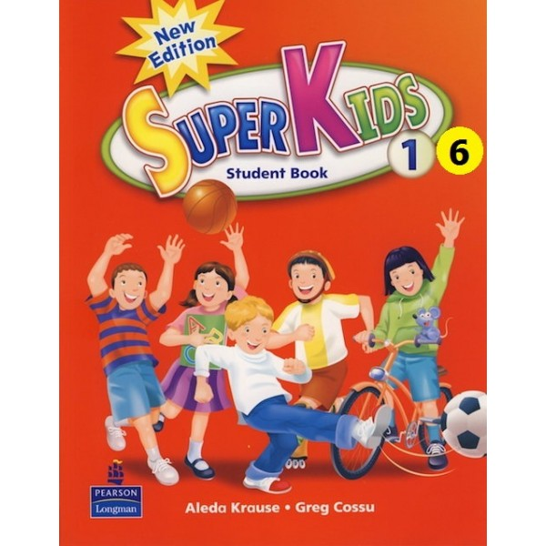 6 cuốn sách SuperKids Level 1,2,3,4,5,6 (ebook+audio)