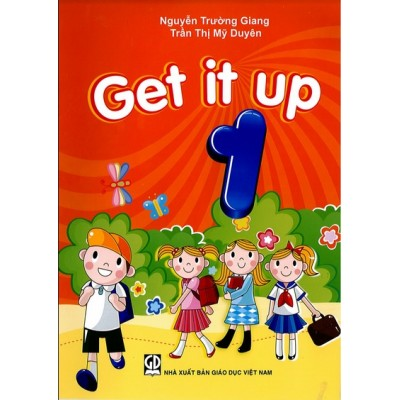 Bộ sách tiếng anh tiểu học Get it up 1,2,3