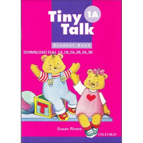 Bộ sách tiếng anh trẻ em Tiny Talk 1A, 1B, 2A, 2B, 3A, 3B