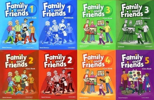 Sách tiểu học Family and Friends Level 1, 2, 3, 4, 5, 6 download